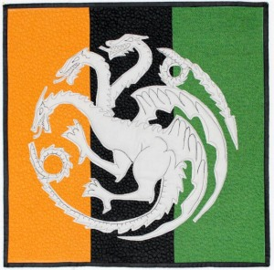 House of Targaryen Sigil quilt