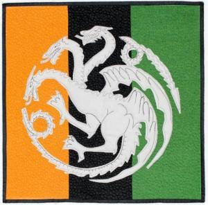 House of Targaryen Sigil quilt